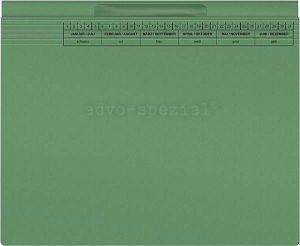 Hängehefter ReNo-VERTIC® mit PlastikFenster 2 AHV, grün