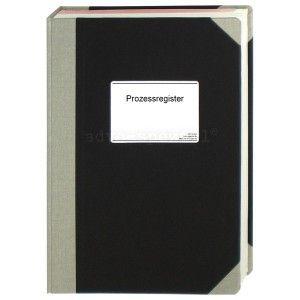 Prozessregister, 200 Seiten