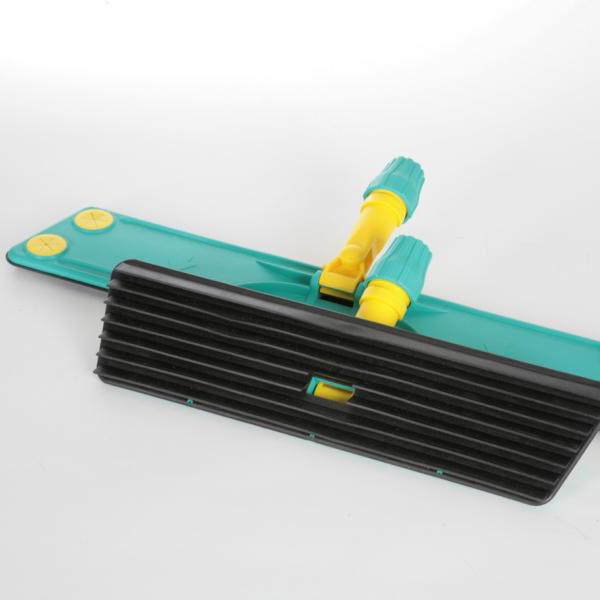 Trapezwischer LAMELLO 60 cm, Kunststoff-Wischer mit Lamellen _ zur schnellen Reinigung mit imprägnierten Tüchern (Artikel: 60068, 60064)