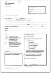 Antrag auf Erteilung eines Negativzeug-  nisses(Berlin), 3erSatz, DIN A4,