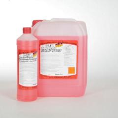 Erster Erzgebirgischer Sanitärduftreiniger, mit Avocado-Duft |  1 Liter _ Unterhaltsreiniger für den gesamten Sanitärbereich