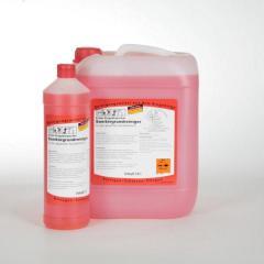 Erster Erzgebirgischer Sanitärgrundreiniger |  1 Liter _ für den gesamten Sanitärbereich, angenehmer Duft, Nicht auf Emaille, Aluminium und Zink anwenden!