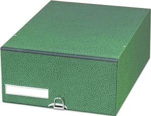 Formularkasten FK 22, für DIN A4, grün, 130 mm hoch