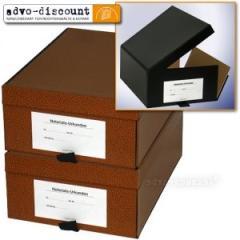Formularkasten für DIN A4, schwarz, oben / rechts aufklappbar