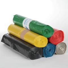 Müllsack  70 Liter, Typ60 HD, rot, gelb, grün | 25 Stück/Rolle