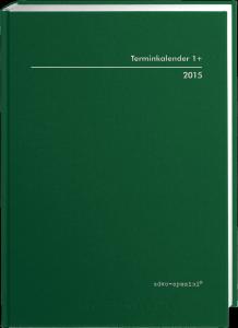 Terminkalender TK 1+, durchschossen, grün