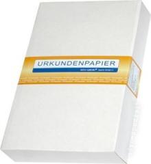 Urkundenpapier DIN A4 o. WZ, 90g/m², gelblich-weiß, VE=500 Blatt