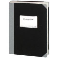 Urkundenrolle - 300 Seiten Buchform, mit Register