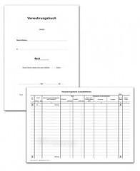 Verwahrungsbuch - Loseblattform, DIN A4, weiß, 50 Blatt + 3 Titel