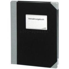 Verwahrungsbuch DIN A4, 100 Seiten