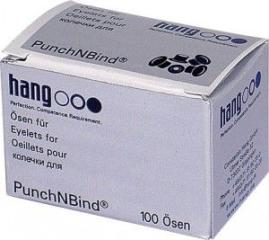 Öse f. PunchNBind, Alu 5 mm Dm, VE= 100 Stk.